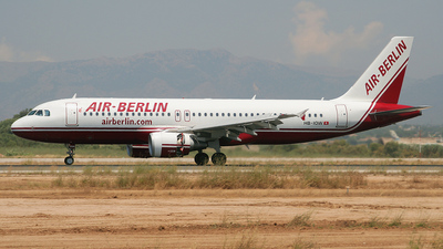 HB-IOW - Airbus A320-214 - Air Berlin (Belair Airlines)