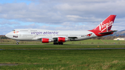 G-VROS - Boeing 747-443 - Virgin Atlantic Airways
