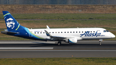 N403SY - Embraer 170-200LR - Alaska Airlines (Skywest Airlines)