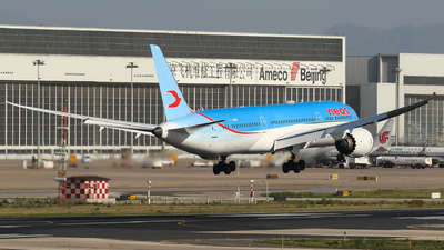 A picture of EINEW - Boeing 7879 Dreamliner - Neos - © yiran