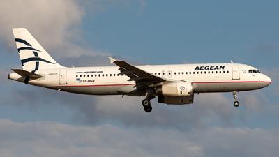 A picture of SXDGJ - Airbus A320232 - Aegean Airlines - © Sebastian Sowa