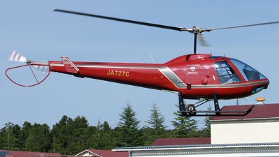 JA727C - Enstrom 280FX Shark - Private