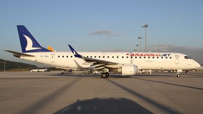 TC-YAL - Embraer 190-100LR - AnadoluJet