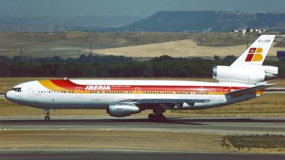 EC-CBP - McDonnell Douglas DC-10-30 - Iberia