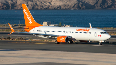 C-FFPH - Boeing 737-81D - Sunwing Airlines