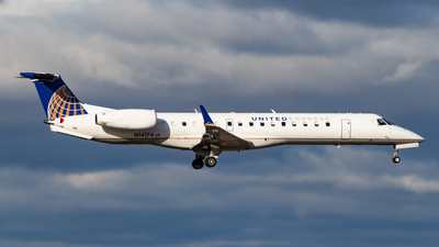 N14174 - Embraer ERJ-145XR - United Express (Commutair)