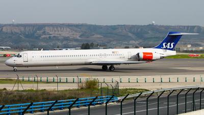 SE-DIR - McDonnell Douglas MD-82 - Scandinavian Airlines (SAS)