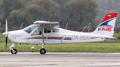 A picture of OKHDG - Tecnam P.92JS Echo - [111] - © Łukasz Stawiarz