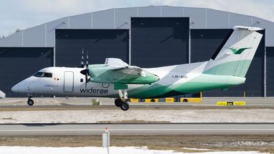 A picture of LNWIR - De Havilland Canada Dash 8100 - Wideroe - © Hubay Andor