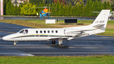 OY-VIP - Cessna 550 Citation II - Private