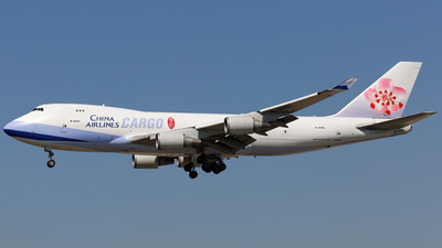 B-18701 - Boeing 747-409F(SCD) - China Airlines Cargo