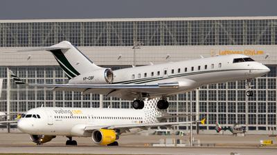 VP-CBF - Bombardier BD-700-1A11 Global 5000 - Private