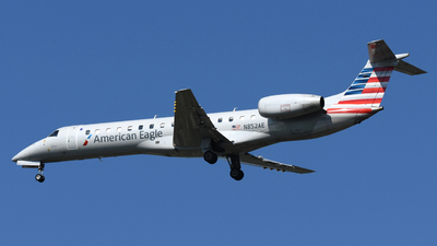 A picture of N852AE - Embraer ERJ140LR - American Airlines - © DJ Reed - OPShots Photo Team