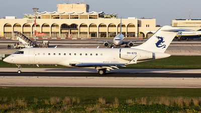 9H-AYS - Bombardier BD-700-1A10 Global Express - Air CM Global