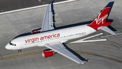 N840VA - Airbus A320-214 - Virgin America