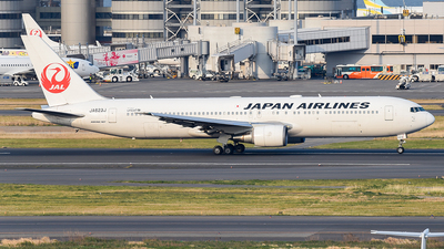 JA623J - Boeing 767-346(ER) - Japan Airlines (JAL)