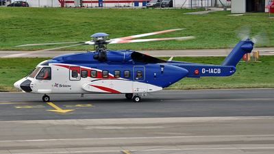 G-IACB - Sikorsky S-92A Helibus - Bristow Helicopters
