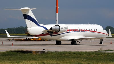 9H-BSG - Bombardier CL-600-2B19 Challenger 850 - Blue Square Aviation