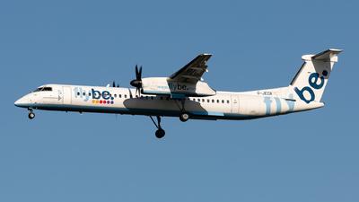 A picture of GJECR - De Havilland Canada Dash 8400 - Flybe - © Sebastian Sowa