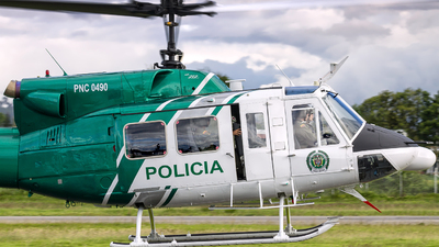 PNC-0490 - Bell 212HP - Colombia - Police