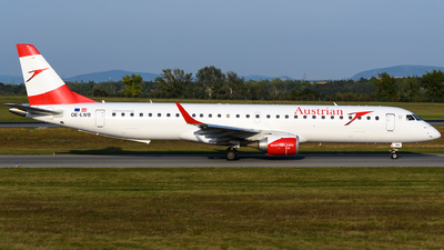 OE-LWB - Embraer 190-200LR - Austrian Airlines