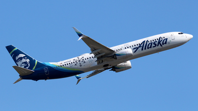A picture of N287AK - Boeing 737990(ER) - Alaska Airlines - © Huy Do
