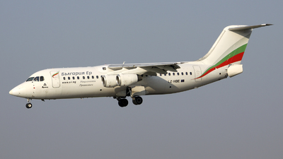 LZ-HBE - British Aerospace BAe 146-300 - Bulgaria Air