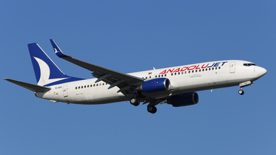 TC-SBS - Boeing 737-8AS - AnadoluJet