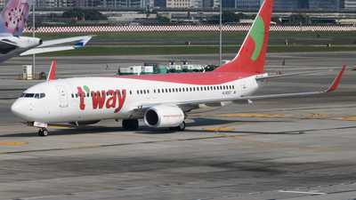 HL8067 - Boeing 737-8Q8 - T'Way Air