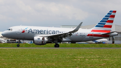 A picture of N9029F - Airbus A319115 - American Airlines - © Jorge andres solano sancho