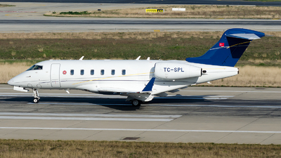 A picture of TCSPL - Bombardier Challenger 300 -  - © Alp AKBOSTANCI