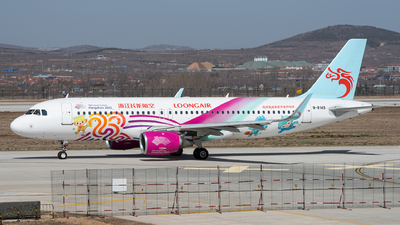 A picture of B8145 - Airbus A320214 - Loong Air - © xuhaoqing995