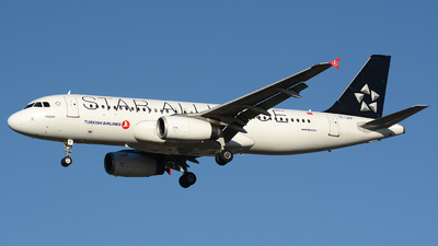 TC-JPF - Airbus A320-232 - Turkish Airlines