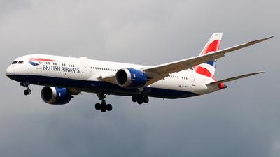 A picture of GZBKH - Boeing 7879 Dreamliner - British Airways - © Dominik  Hermann