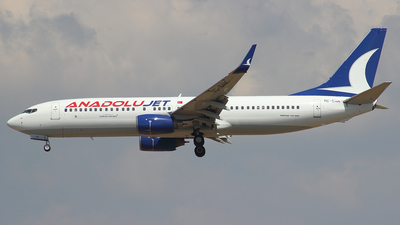 TC-SAK - Boeing 737-8AS - AnadoluJet