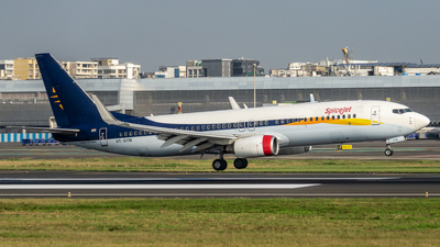 VT-SYM - Boeing 737-8BK - SpiceJet