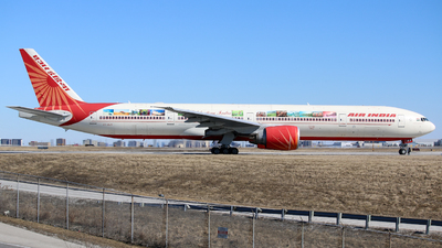 A picture of VTALN - Boeing 777337(ER) - Air India - © Leige Yang