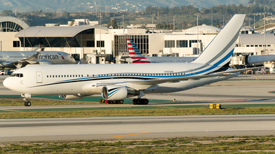 N767MW - Boeing 767-277 - Private