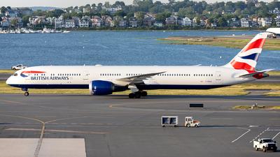 A picture of GZBLB - Boeing 78710 Dreamliner - British Airways - © OCFLT_OMGcat
