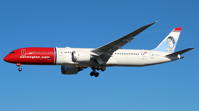 G-CKHL - Boeing 787-9 Dreamliner - Norwegian