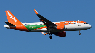 A picture of GEZPD - Airbus A320214 - easyJet - © paoloz99