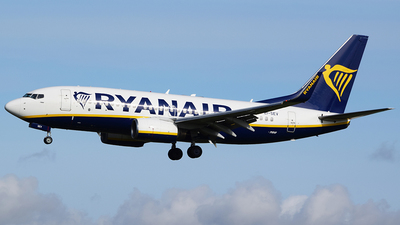 A picture of EISEV - Boeing 73773S - Ryanair - © John Fitzpatrick