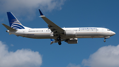 HP-9901CMP - Boeing 737-9 MAX - Copa Airlines