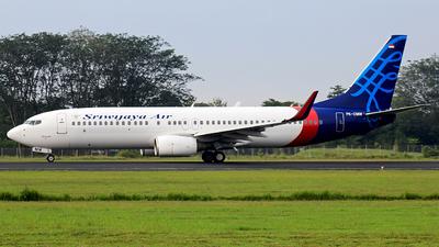 PK-CMW - Boeing 737-83N - Sriwijaya Air