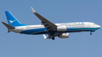 A picture of B7823 - Boeing 73785C - Xiamen Air - © BobH
