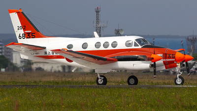 6835 - Beechcraft TC-90 King Air - Japan - Maritime Self Defence Force (JMSDF)