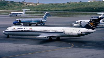 YV-36C - McDonnell Douglas MD-83 - Aeropostal - Alas de Venezuela