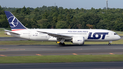 SP-LRC - Boeing 787-8 Dreamliner - LOT Polish Airlines