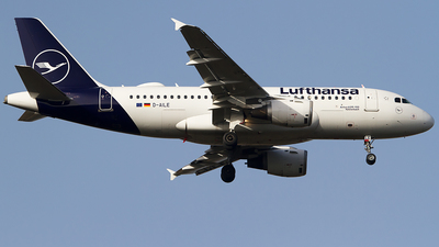 A picture of DAILE - Airbus A319114 - Lufthansa - © Andreas van den Berg
