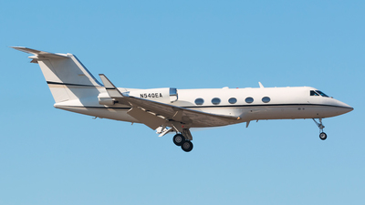 N540EA - Gulfstream G-II(SP) - Private